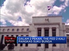 The Fed Pangkas Suku Bunga 2x Dalam 2 Pekan, Trump: I'm Happy