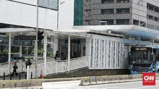 Anies Cabut Pembatasan, Stasiun MRT dan TransJakarta Kondusif