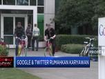 Google & Twitter Terapkan Kerja di Rumah untuk Karyawannya