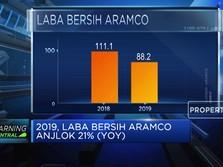 Laba Bersih Saudi Aramco Anjlok 21% (YOY) pada 2019