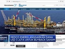 MEDC Anggarkan Dana USD 3 Juta Untuk Buyback Saham