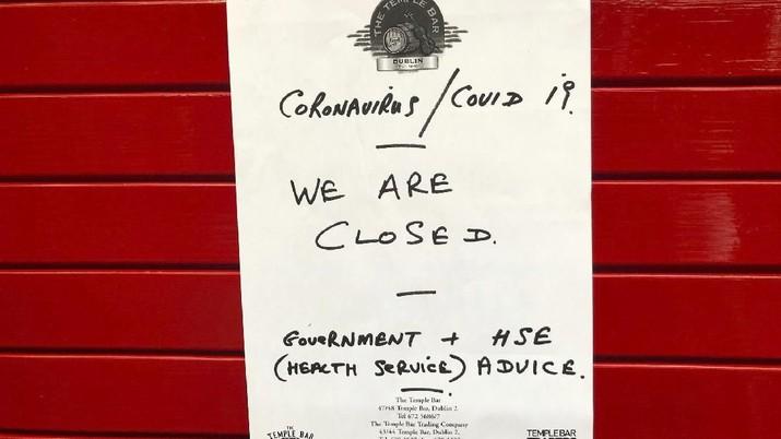 Deretan Negara yang Lockdown Gegara Corona