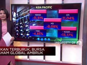Pekan Terburuk, Bursa Saham Global Ambruk