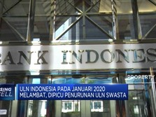 ULN Indonesia Januari Capai USD 410,8 M