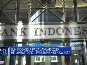 ULN Indonesia Januari Capai USD 410,8 M