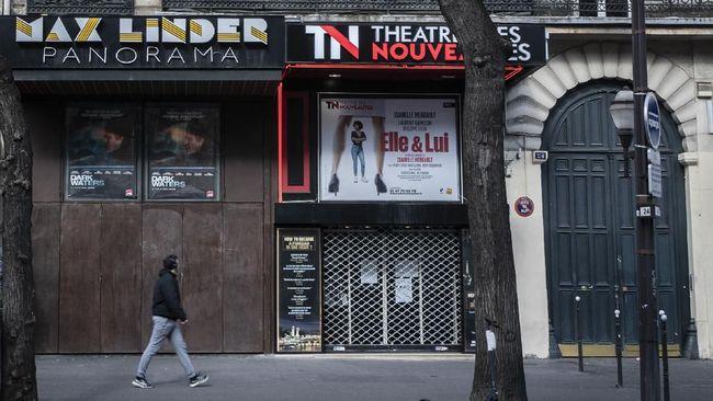 Tekan Penyebaran Corona, Prancis Tutup Seluruh Bioskop