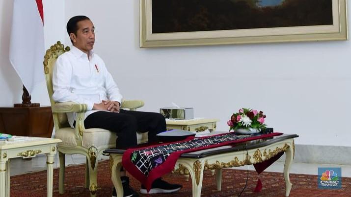 Simak pernyataan Jokowi dalam rapat terbatas di Istana Merdeka, Kompleks Istana Kepresidenan, Jakarta, Rabu (18/3/2020).