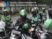 Tarif Grab & Gojek Cs Naik Rp 250/Km, Ini Penjelasan Kemenhub