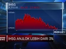 Kembali Memerah, IHSG Anjlok Lebih dari 3%