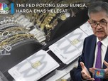 The Fed Potong Suku Bunga, Harga Emas Melesat