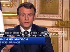 Corona Kepung Eropa, Prancis Umumkan Lockdown