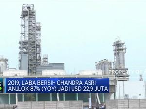 Laba Bersih Chandra Asri Anjlok 87% (YOY) pada 2019