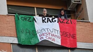 Italia Berkabung atas Kematian 12.428 Orang karena Corona