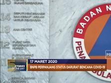 BNPB Perpanjang Darurat Corona hingga Malaysia Lockdown
