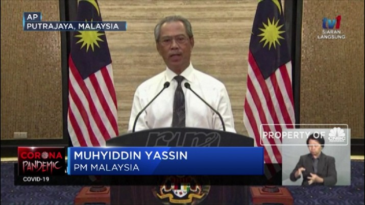Kasus COVID-19 Malaysia Tembus 2.000, 24 Meninggal