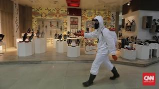 Geliat Mal dan Pasar yang 'Terpukul' Virus Corona
