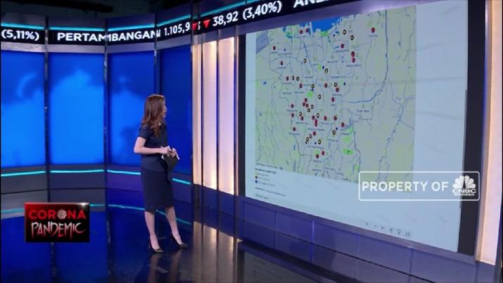 Perkembangan Data Penyebaran Corona di DKI Jakarta