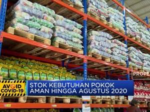 Pemerintah Pastikan Sembako Aman Sampai Agustus 2020