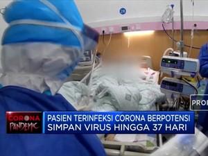 Pasien Corona Berpotensi Simpan Virus di Tubuh Hingga 37 Hari