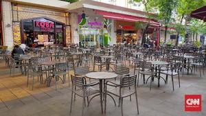 FOTO: Pusat Perbelanjaan Bekasi Sepi 'Terserang' Corona