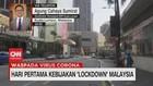 VIDEO: Hari Pertama Lockdown Malaysia Relatif Lengang