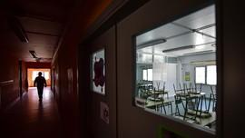 FOTO: Kelas yang Hampa akibat Virus Corona