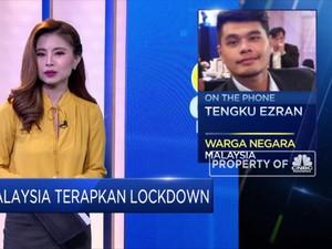 Malaysia Resmi Terapkan Lockdown, Warga Berkegiatan di Rumah