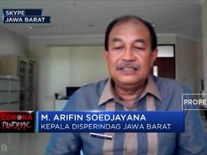 Strategi Jabar Atasi Hambatan Bahan Baku Industri Efek Corona