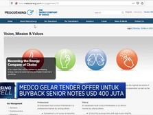 MEDC Gelar Tender Offer Untuk Buyback Senior Notes
