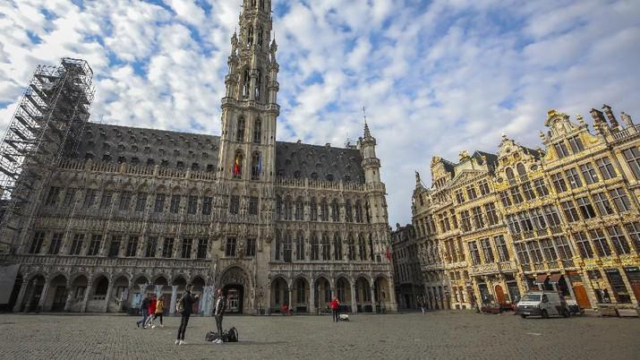 Melihat Belgia yang Sepi Setelah Lockdown Hari Ini