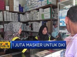 1 Juta Masker untuk DKI