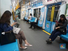 Setahun Pandemi, Jumlah Penumpang MRT Jakarta Mulai Naik