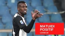 VIDEO: Gelandang Juventus Matuidi Positif Covid 19