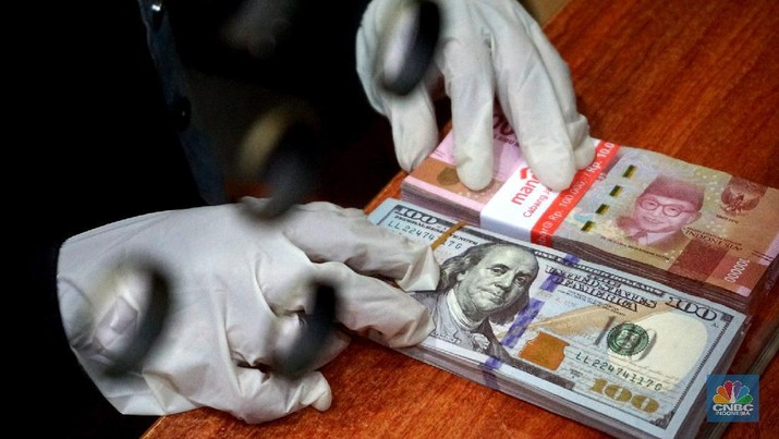 Dollar AS - Rupiah (CNBC Indonesia/Muhammad Sabki)