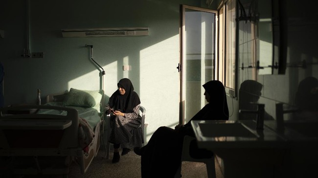 Dokter itu juga bukan penduduk Libya, melainkan warga Amerika Serikat, William Novick. (AP Photo/Felipe Dana)