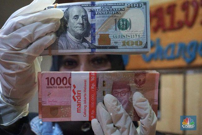 Pekan Ini Rupiah Dihantam Dolar As Terburuk Kedua Di Asia