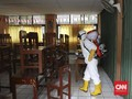Corona Bertambah, Pemkot Semarang Gencar Semprot Disinfektan