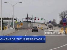 Tanggap Corona, Perbatasan AS-Kanada Ditutup