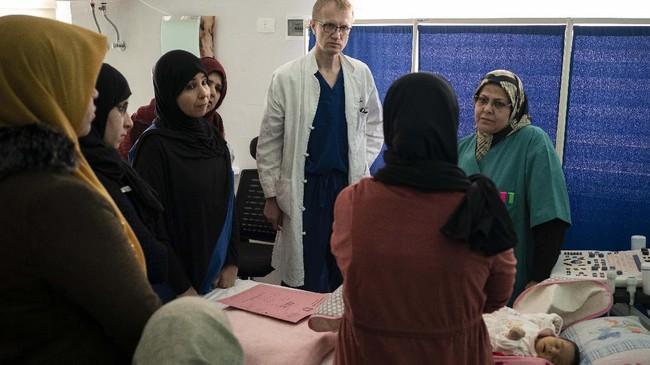 Kondisi itu berdampak buruk terhadap sistem jaminan kesehatan penduduknya. (AP Photo/Felipe Dana)