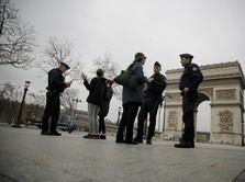 Lockdown! Polisi Prancis Razia Warga yang Keluar Rumah