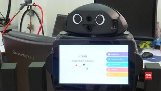 VIDEO: Robot Ninja Bantu Rawat Pasien Virus Corona
