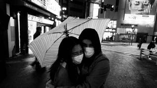 FOTO: Hitam Putih Jepang dan Wabah Corona