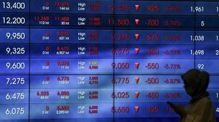 Stimulus Ekonomi Jokowi Tak Mempan Topang Kinerja IHSG