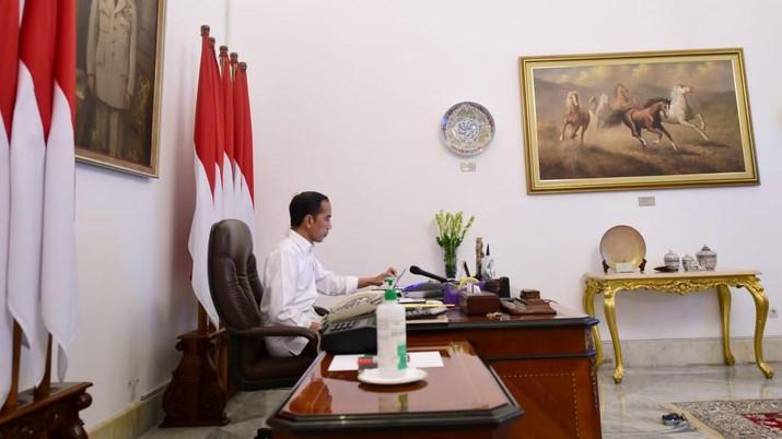 Pengakuan Sang Presiden: Sulit Bendung Corona Masuk RI