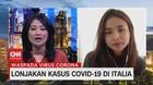 VIDEO: Lonjakan Kasus Covid-19 di Italia