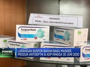 Indonesia Larang Ekspor Masker