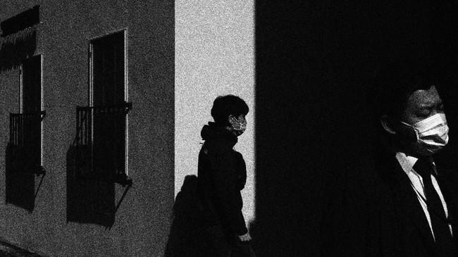 Jepang menjadi salah satu negara yang terkena pandemi virus corona. (AP Photo/Jae C. Hong)