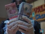 'Dihajar' Luar-Dalam, Rupiah Tetap Tegar di Bawah 15.000/US$