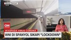 VIDEO: WNI di Spanyol Sikapi 'Lockdown'