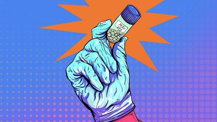 INFOGRAFIS, Obat Mujarab dari Jepang Sembuhkan Pasien Corona